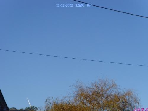 TEMPS DU JOUR  11/11/2012