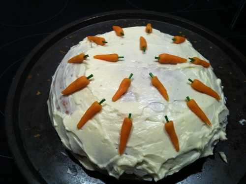 Carrot cheese-cake