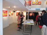 Galerie Pikinasso  Anne Poiré et Patrick Guallino 2014