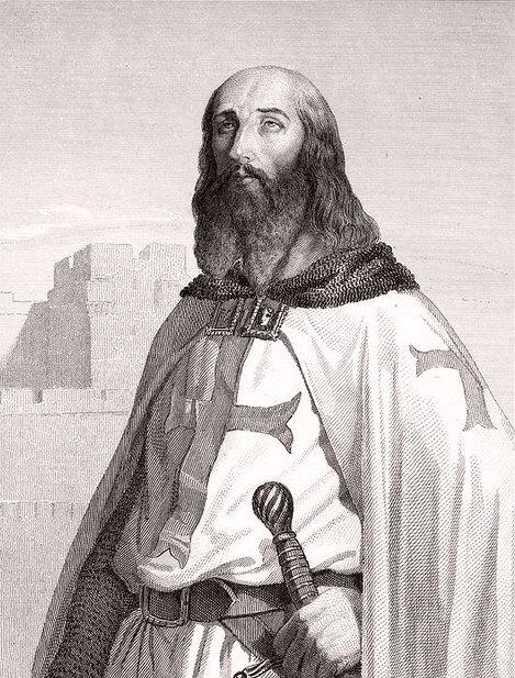 Jacques de Molay, grand Maître de l'Ordre du Temple