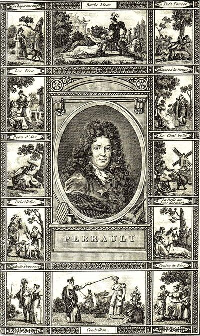 Portrait de Charles Perrault