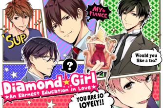 """Résultat de recherche d'images pour """"diamond girl otome"""""""