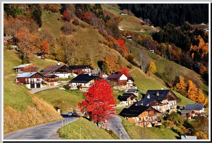 Savoie ,barrage de Roselend