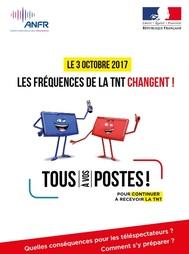 Pour info - Le 3 octobre 2017, changement de fréquences de la TNT