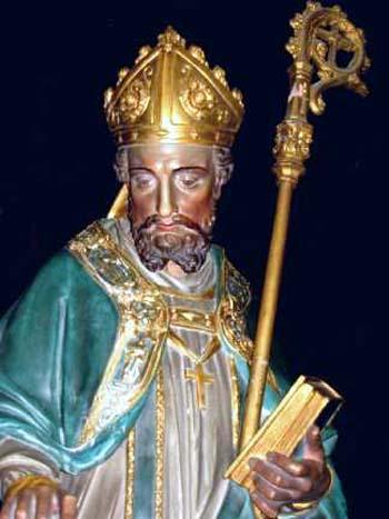 Saint Médard de Noyon. Evêque († 560)