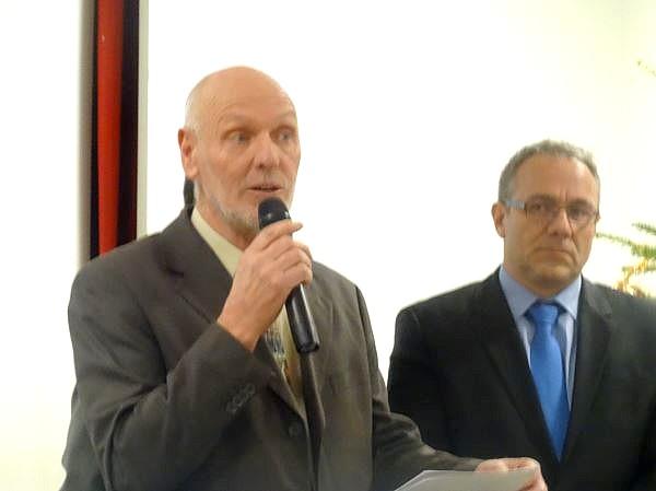 Les voeux de Francis Castella, Maire de Sainte Colombe sur Seine, pour 2017