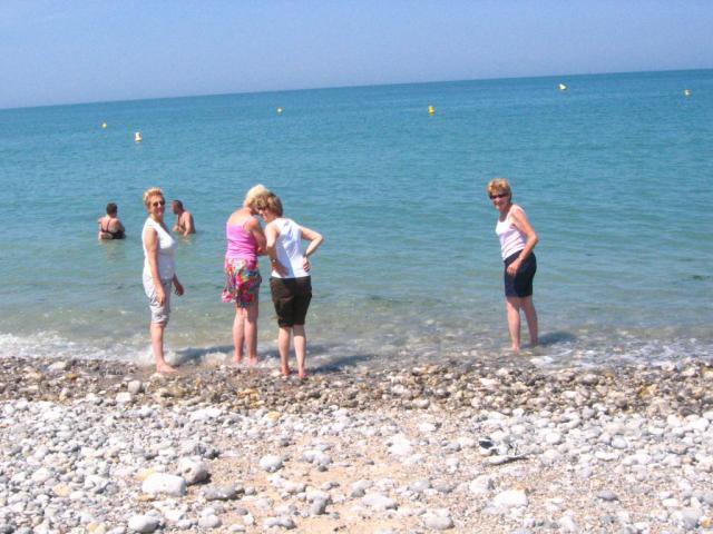 On marche jusqu'à ..... la mer !!!!