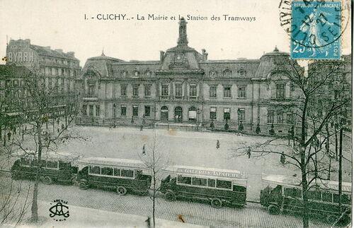 Les bus parisiens