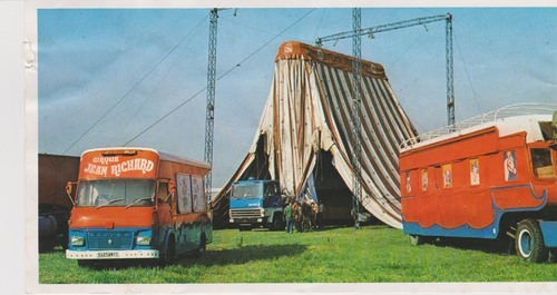 le cirque Jean Richard 1979 ( archives Bernard Lagarde)