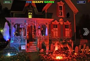 Jouer à Halloween Haunt house