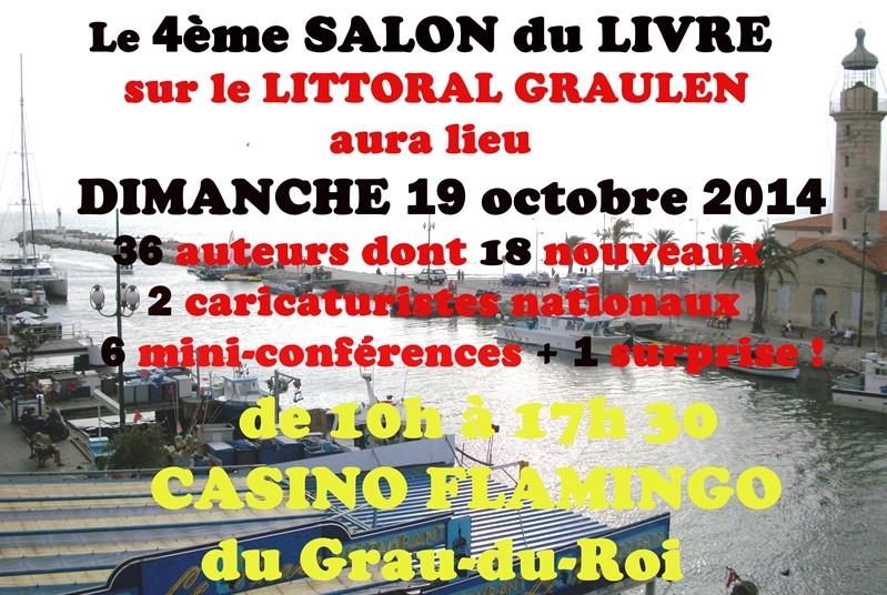 ★ Salon du Livre au Grau du Roi [ 2014]