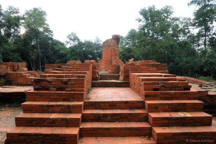 Le sanctuaire de My-Sön : groupe H, Vietnam 2019
