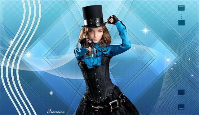 ST0003 - Tube femme steampunk