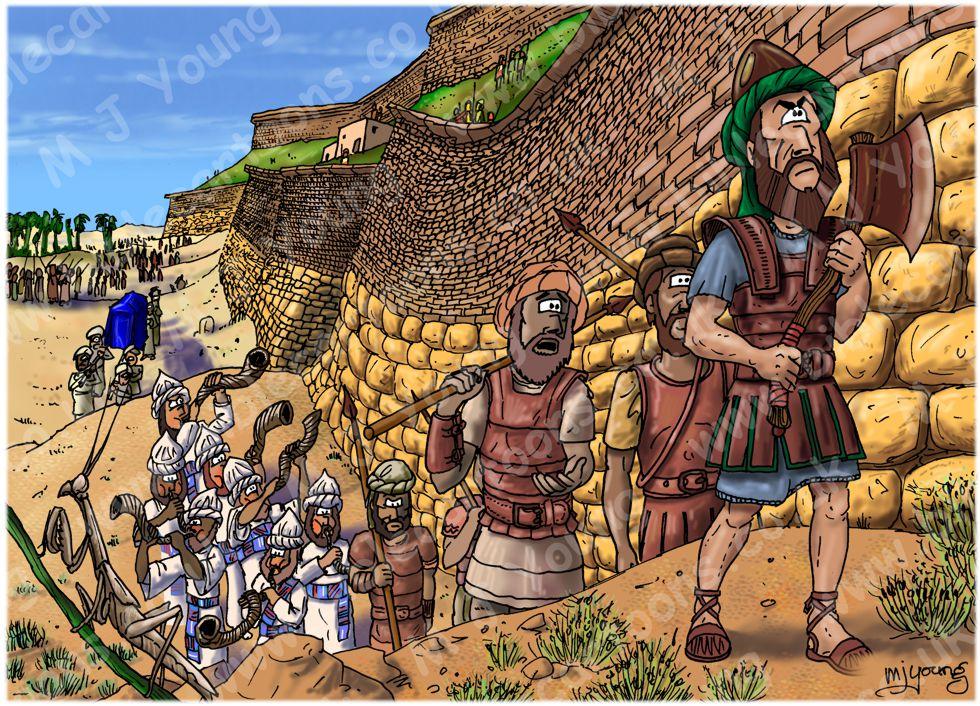 Joshua 06 - Fall of Jericho - Scene 03 - Circling Jericho