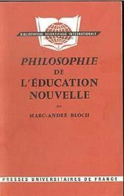 Philosophie de l'éducation nouvelle