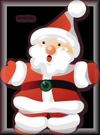Tube père Noel vectoriel 2988