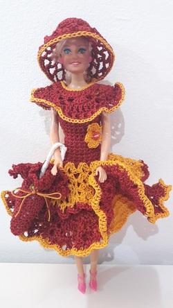 Robe barbie, changement de modèle