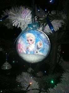 Boule Reine des neiges