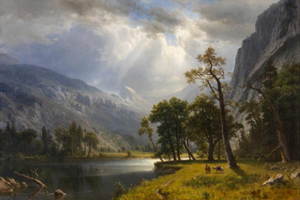Peinture de : Albert Bierstadt