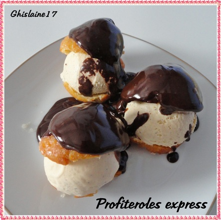 Profitéroles express