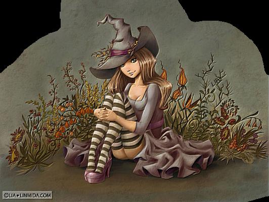 Tubes jolies sorcieres