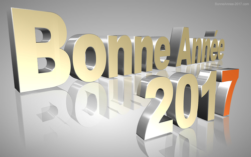 BONNE ANN2E 2017 - HAPPY NEW YEAR 2017