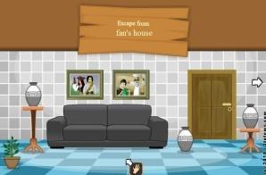 Escape from fan's house