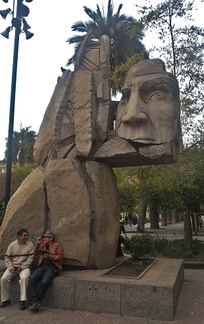 monument dédié aux cultures indigènes