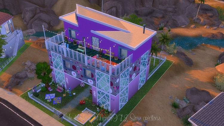 La crèche Poney Rose, Sims 4