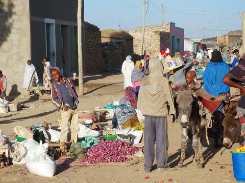 le petit marché de Hausien