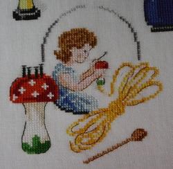 Panier tricot : décos 2.