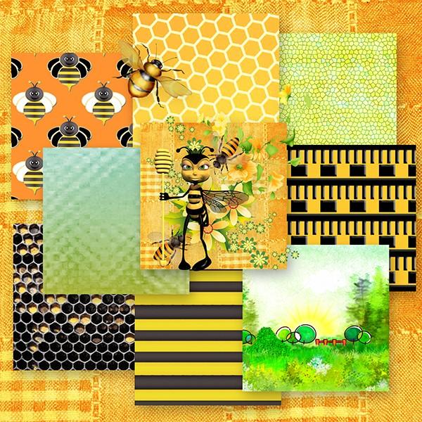 Mimi l'abeille Collab Josy & Desclics