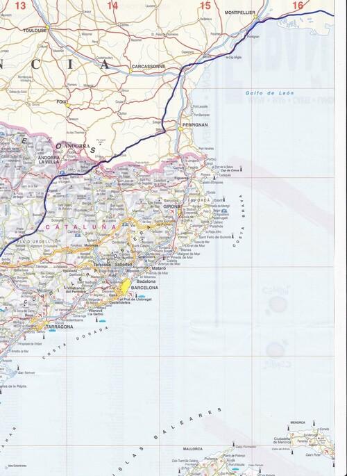 Tracé du parcours, cartes détaillées, les étapes, l'itinéraire prévu, .