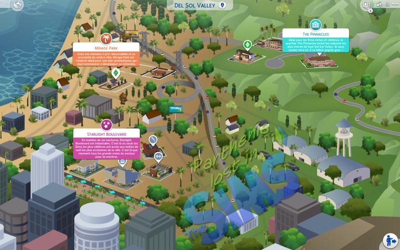Sims 4 Heure de gloire : Del Sol Valley