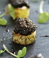 mousse d'avocat au Caviar des Pyrénées