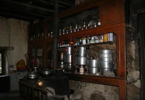 la visite du village de Chilling;