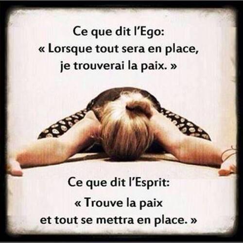 Eveil - L'ego