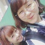 Saki à Disney avec Mitsui Aika
