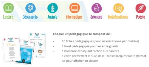 Kit Bureau Vallée / Transat Jacques Vabre