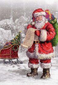 Magnifique Père Noël // Beautiful picture @ chicfluff.orgchicfluff.org: