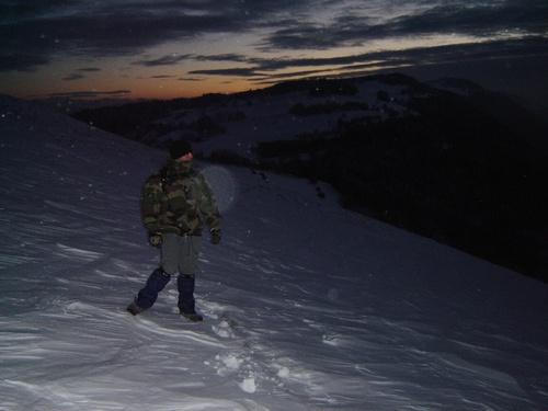 """un rescapé... le soir de """"l'avalanche"""""""
