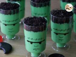 Crèmes Frankenstein pour halloween