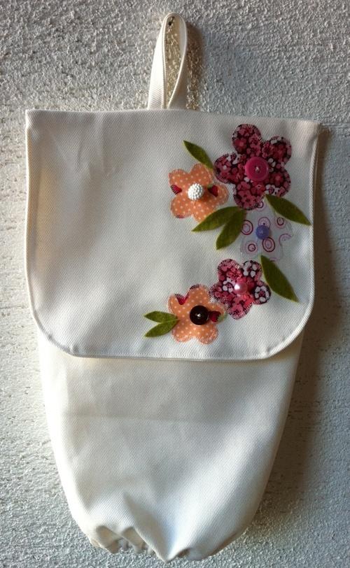 Sac à sacs fleuri