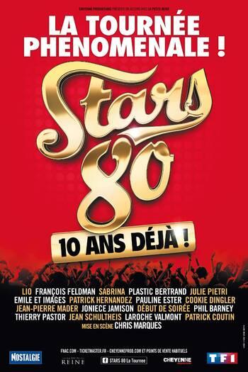Concert Stars 80 : Tournée dans toute la France