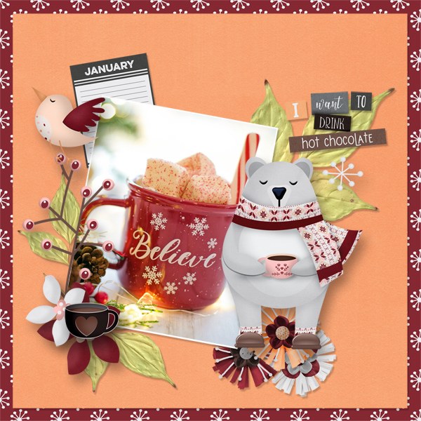 Sweaters & Hot Cocoa bundle by Gina