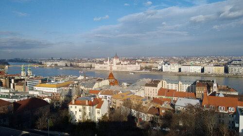 Vue générale de Budapest