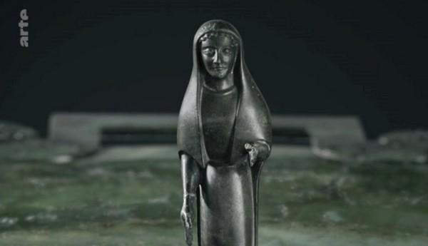 """""""L'énigme de la tombe celte"""" un superbe film d'ARTE a été projeté en public à Châtillon sur Seine, en présence de ses réalisateurs"""