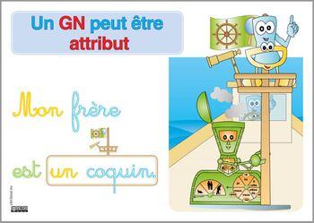 Un GN peut être attribut