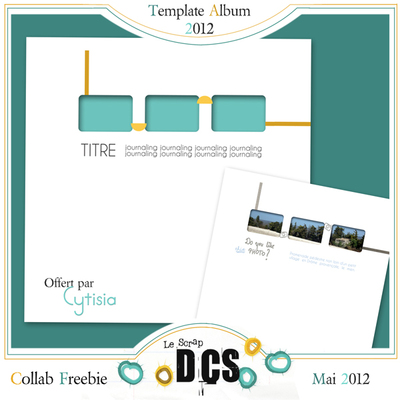 DCS présente son nouveau pack ALBUM TEMPLATES 2012