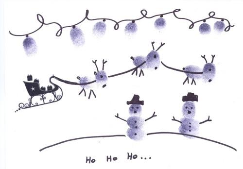 Carte de Noël 2015 Décloisonnement MS/GS